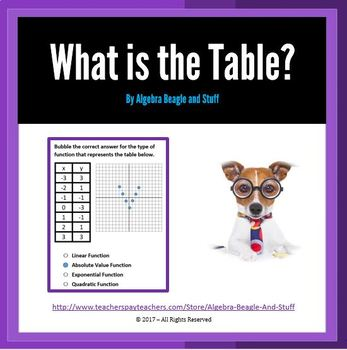 What is the Table?