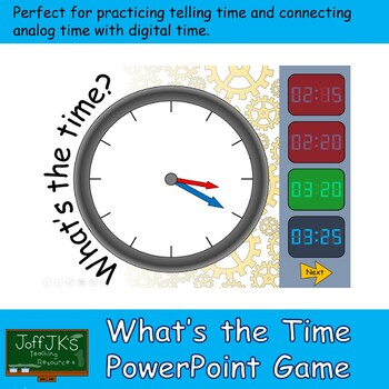 What is the Time PowerPoint Game or Activity