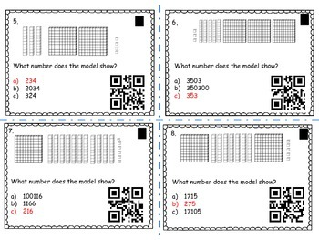 What is the Value of a number? (with QR codes)