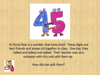 What is the Value of the Digit?  Partitioning Numbers.