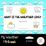 The Weather, What is the Weather Like?  Minibook, English