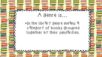 What in the World is a Book Genre?