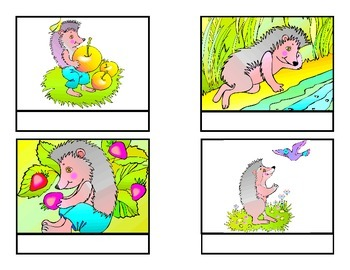"""""""What is the hedgehog doing?"""" Questions for Autism"""