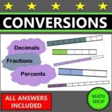 converting fractions, decimals, and percents activity