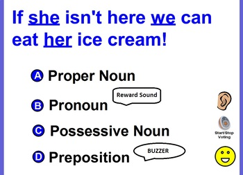 What is the underlined word in the sentence?  Noun, Verb, Adjective, and Adverb.