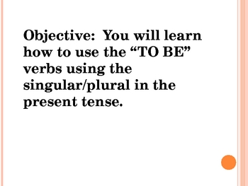 What is the verb?
