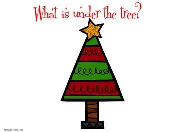 What is under the tree FREEBIE