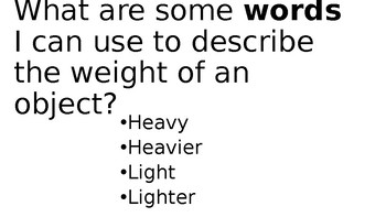 What is weight