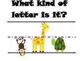 What kind of letter is it?