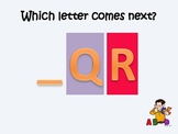"""What letter comes next?""  ABC Assessment Power Point (part 2)"