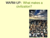 What makes a Civilization? PowerPoint China