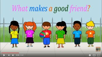 What makes a good friend?