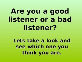 What makes a good listener?