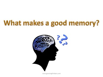 What makes a good memory?