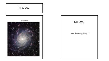 What makes up a galaxy?