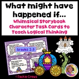 What might have happened if... Whimsical Storybook Task Ca