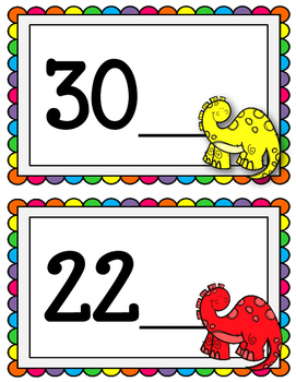 What number comes after. Dry Erase Cards. Ordering Numbers