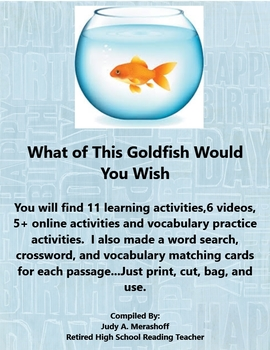 What of This Goldfish Do You Wish