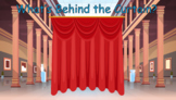 What's Behind the Curtain? Fun ESL guessing game - Great f