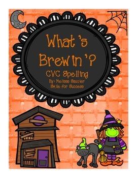 What's Brewin'? {CVC Spelling}