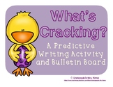 What's Cracking?: A Predictive Writing Bulletin Board