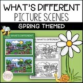 No Prep What's Different? Spring Themed