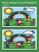 No Prep What's Different? Spring Themed for Speech and Language