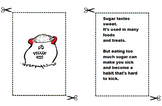 What's Eating You Kid?  Monster Card Cutouts (Flashcards)