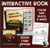 What's For Dinner? An interactive & adaptive book