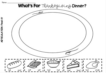 What's For Thanksgiving Dinner [FREE]