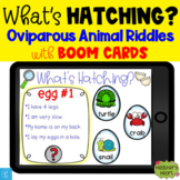 What's Hatching? Oviparous Animal Riddles with Boom Cards