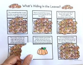 What's Hiding in the Leaves? FREEBIE Min-Prep Activity