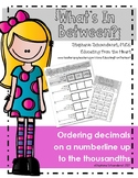 What's In Between? Decimal Order to the Thousandths