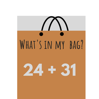 What's In My Bag? - Double Digit Adding Without Regrouping - Math