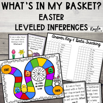 What's In My Basket? {Easter Inferencing}