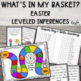 Leveled Inferences: Easter Activities