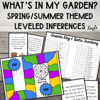 What's In My Garden? {Spring/Summer Inferencing}