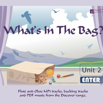 What's In The Bag Flute And Oboe MP3 And PDF Unit 2.