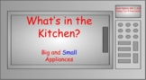 What's In The Kitchen: Big/Small Appliances