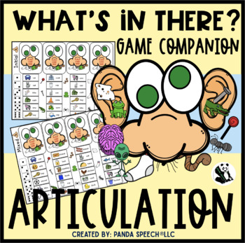What's In There?? Articulation Game Companion