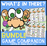 What's In There?? BUNDLE: Articulation and Language Game Companion