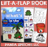 What's In the Sand?  An interactive & adaptive book