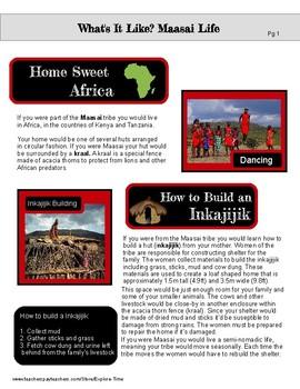 What's It Like? Maasai Life