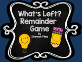 What's Left? A game of remainders