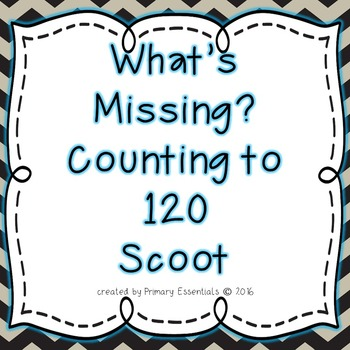 What's Missing? Counting to 120 Scoot