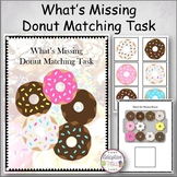 What's Missing Donut Matching Task