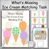 What's Missing Ice Cream Matching Task