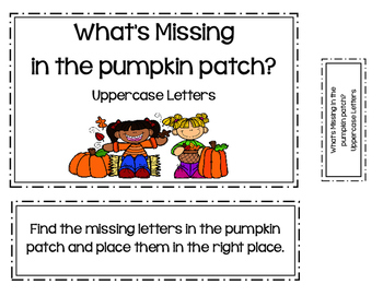 What's Missing In The Pumpkin Patch?