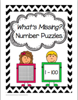 What's Missing? Number Puzzles (1-100)