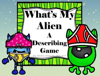 What's My Alien-A Describing Game